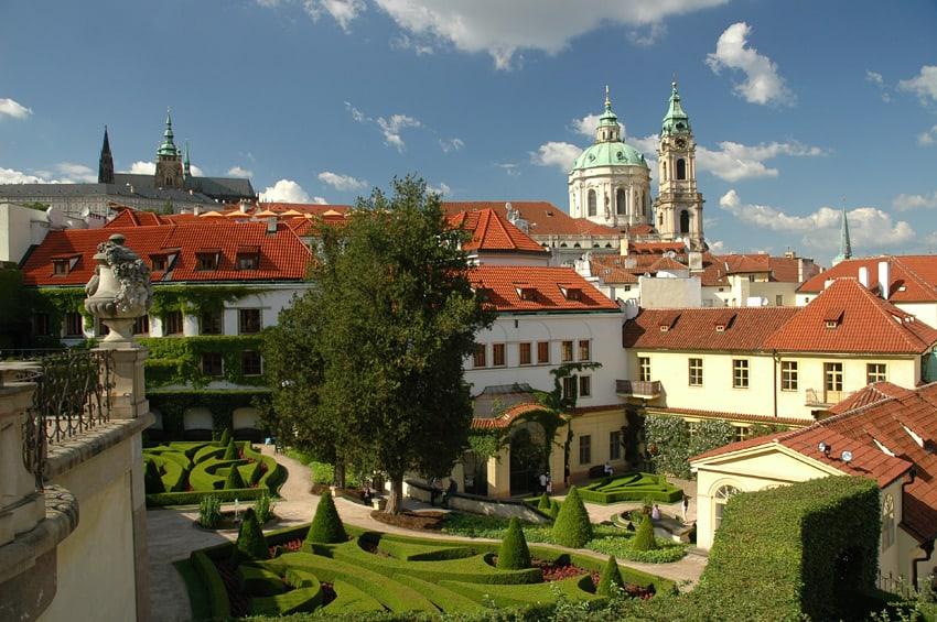 De verborgen tuinen van Praag