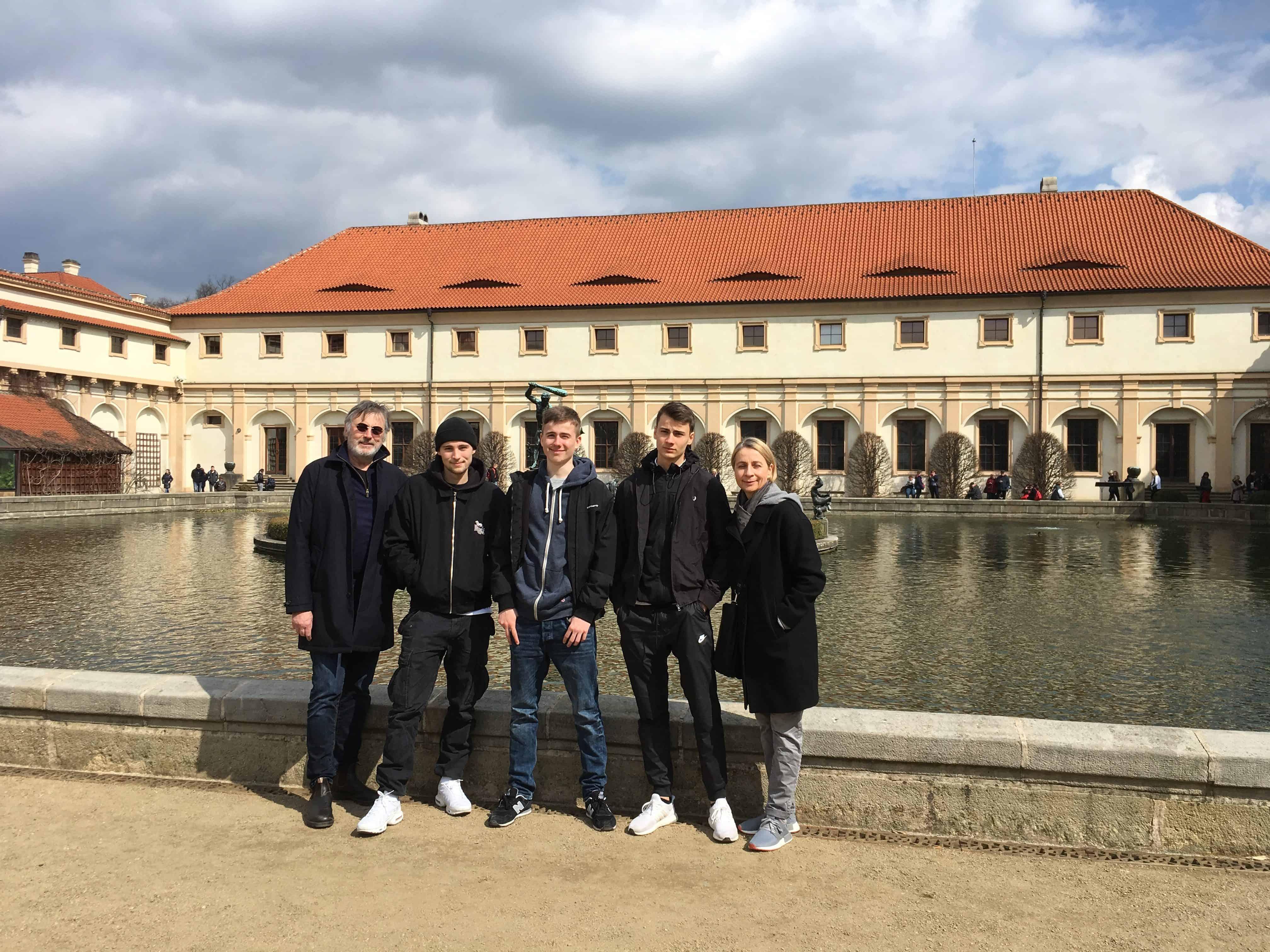 Wallenstein tuin Praag